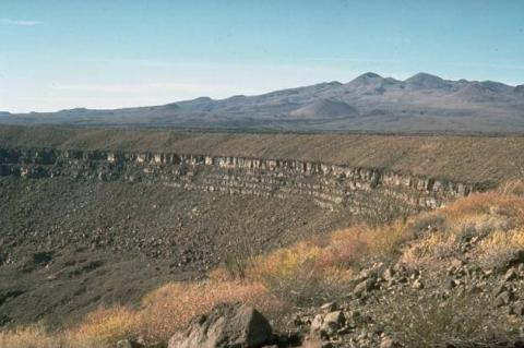 Pinacate volcanic field, Sonora, Mexico