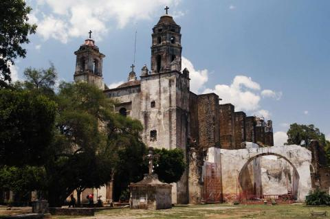 Tepoztlan Church and Convent, Mexico