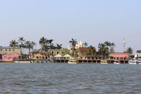 Tlacotalpan on the Papaloapan River, Veracruz, Mexico