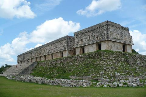 Governor's Palace, Uxmal (Mexico)