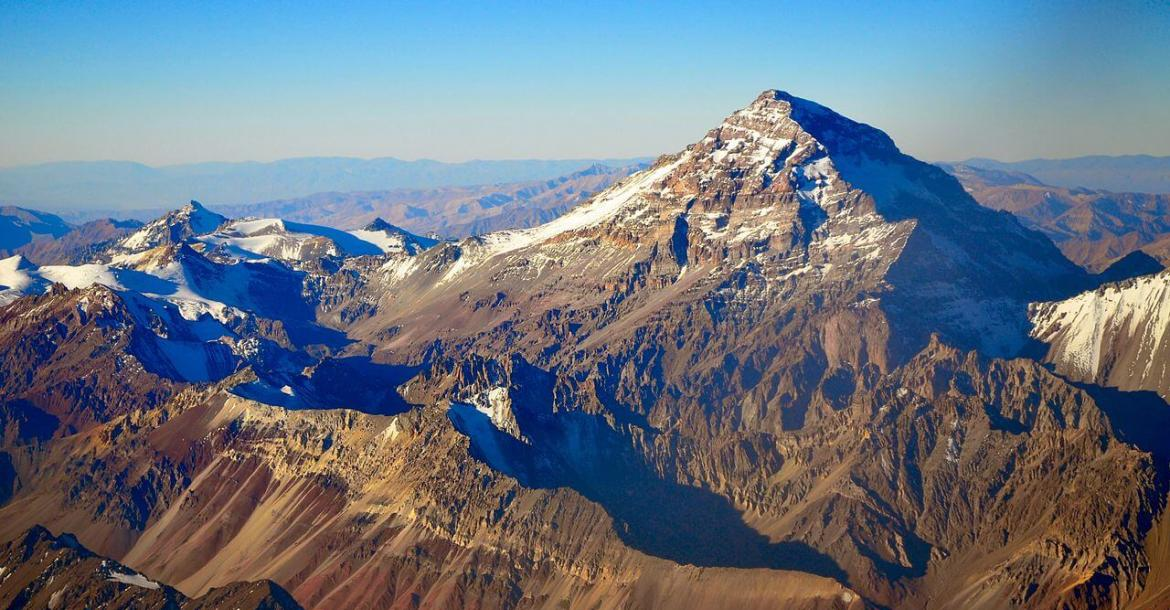 View of Mount Aconcagua, Argentina