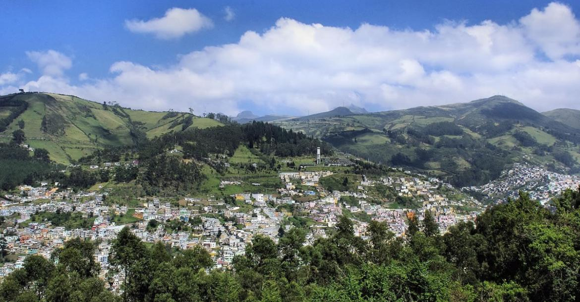 City of Quito panorama (Ecuador)