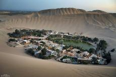 Huacachina: town and oasis, Ica, Peru