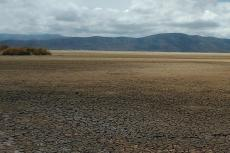 Lake Poopó at a low point in early 2016. Credit: Chiliguanca / flickr, CC BY-SA