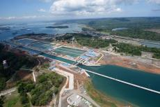 New Panama Canal Agua Clara locks (Atlantic side)