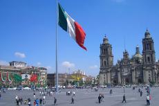 Plaza de la Constitución − Zócalo — in the historic center of Mexico City